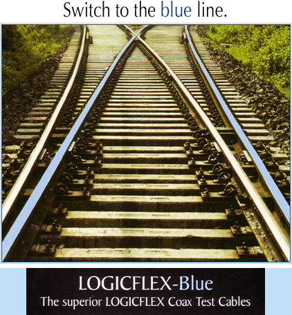 Logicflex Blue Test Cables